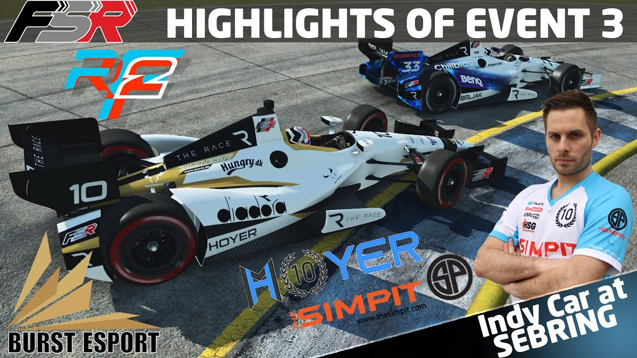 Michi Hoyer: Indy Pro Championship Round 3 on rFactor 2