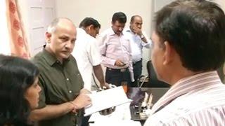 Manish Sisodia conducts surprise raid at Delhi school, suspends principal