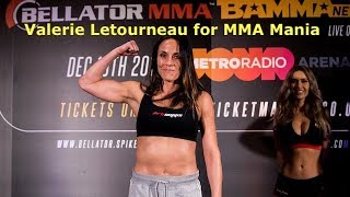 Valerie Letourneau Interview Before Kristina Williams at Bellator 201
