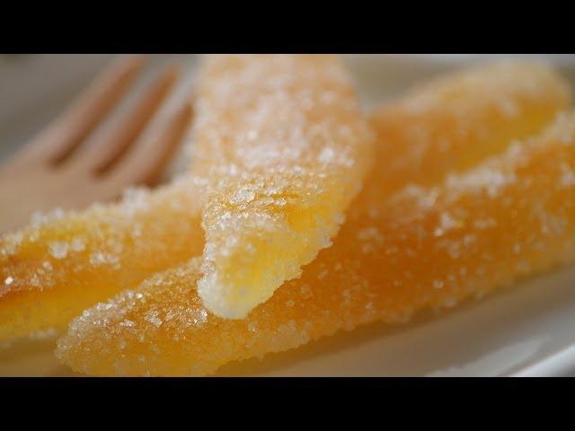 夏みかんピールの作り方(レシピ) – How to make Candied Natsumikan Peel