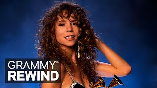 Watch Mariah Carey Win Best New Artist At The 1991 GRAMMYs | GRAMMY Rewind