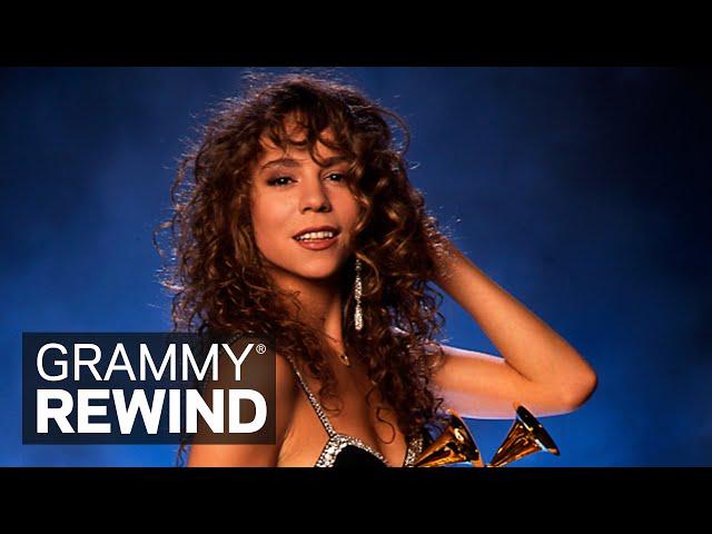 Watch Mariah Carey Win Best New Artist At The 1991 GRAMMYs | GRAMMY Rewind