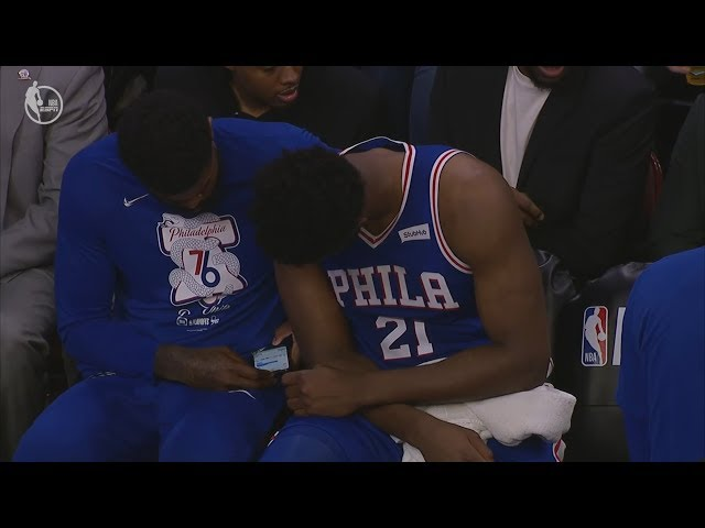 Nets Steal Game 1! Embiid On Cell Phone Mid Game! 2019 NBA Playoffs
