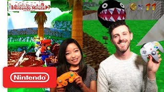 A Look Back at Super Mario 64 & Super Mario Sunshine - Nintendo Minute