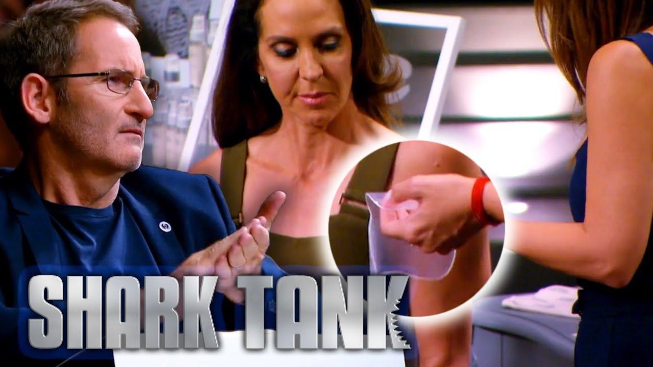 Sharks Applaud Ingenious Wrinkle Remover Stickers | Shark Tank AUS