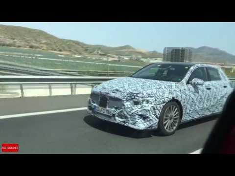 Vídeo espía - Mercedes Clase A 2018