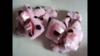 Havaianas de inverno – Como fazer chinelos pantufas – PAP sem costura