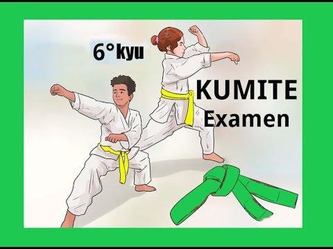 Kumite Examen Cinturon Verde 6 Kyu Karate Do Youtube