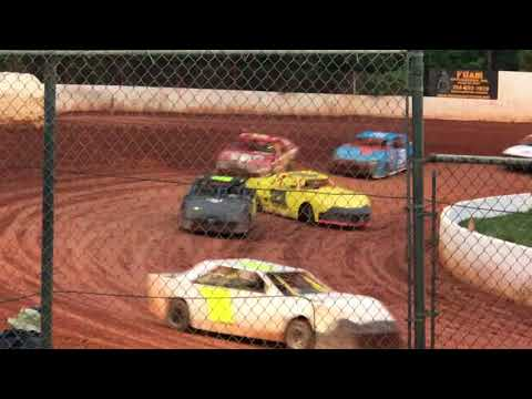 05/05/2018 East Lincoln Speedway Stock 4 Feature. #99 Hilton 7th