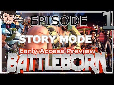 Battleborn Early Access Preview | PVE Story Mode (Advanced Hardcore) Episode 1: The Algorithm