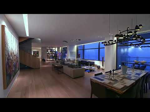 Luxury penthouse with views of the Burj Khalifa