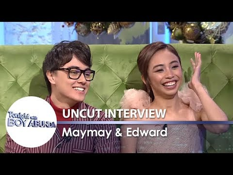 TWBA Uncut Interview: Maymay Entrata & Edward Barber