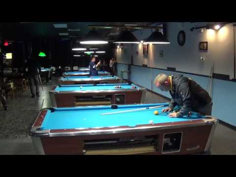 Freddy Scott vs. John Moody Jr @ Milford Billiards