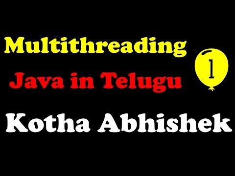 multithreading-in-java-part-1-in-telugu-by-kotha-abhishek
