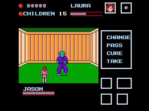 Friday the 13th (NES) Jason - Vizzed.com GamePlay