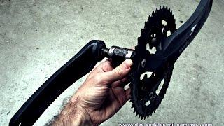 Como quitar el eje de pedalier de cuadradillo
