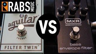 Aguilar Filter Twin vs MXR M82 Bass Envelope FIlter