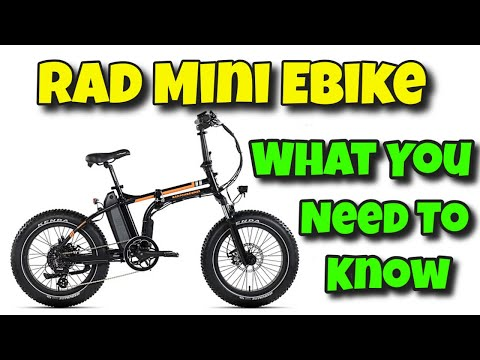 Rad Power Mini Ebike - What You Need To Know