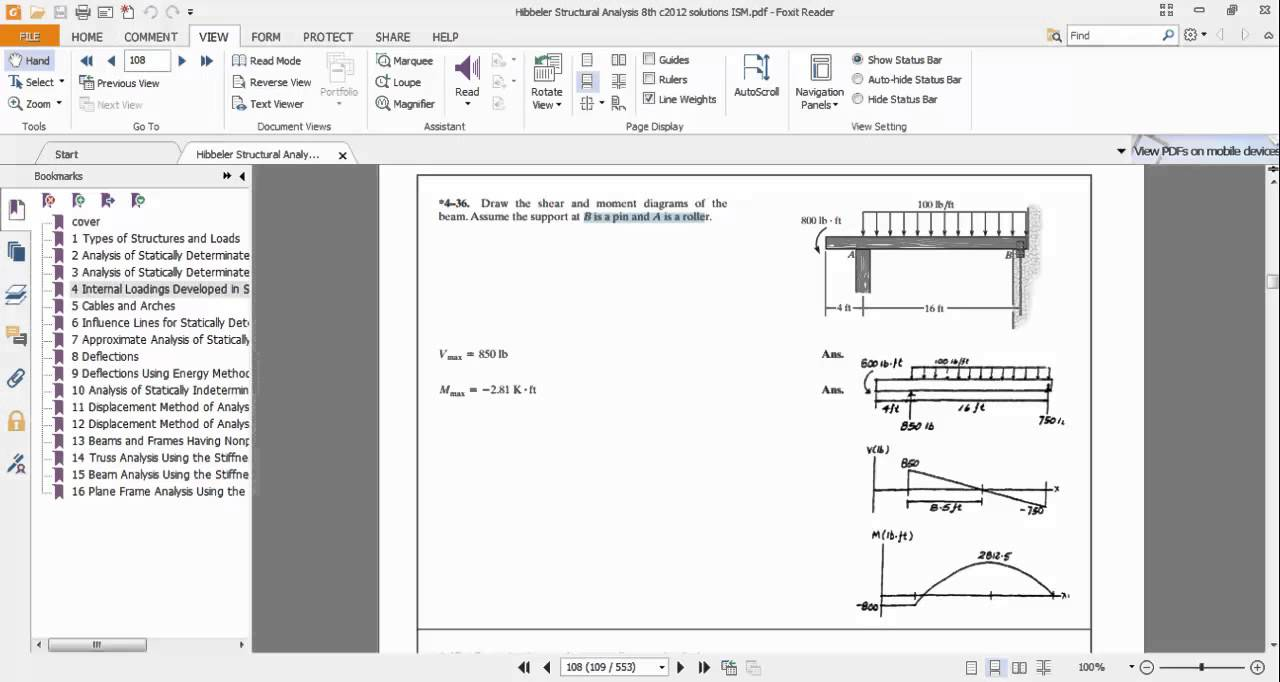 Moment Diagram Program Manual Of Wiring Bending Software Sap2000 Ex 4 36 Draw The Shear And Diagrams Youtube Rh Com