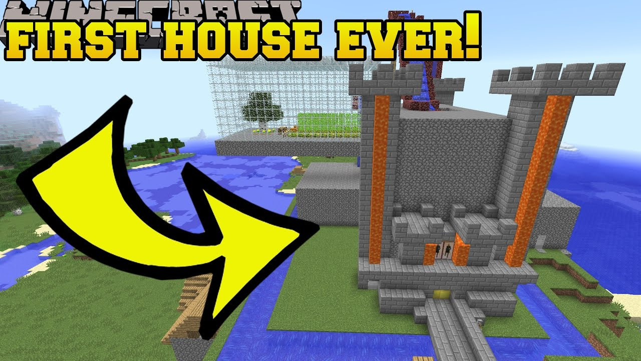 First Minecraft House I Ever Built