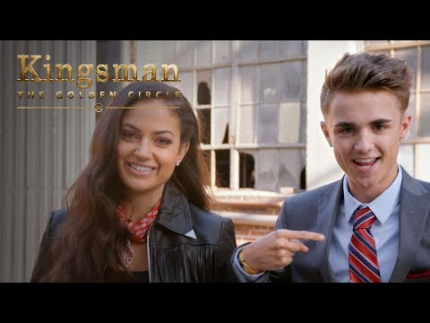 Download Youtube: Kingsman: The Golden Circle | Jake Mitchell and Inanna Sarkis Attempt Kingsman Level Stunts