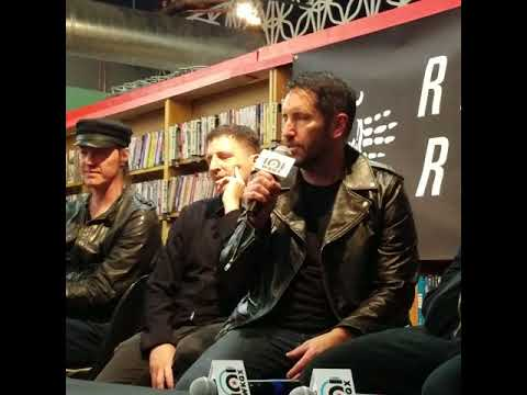 Nine Inch Nails Q&A at Reckless Records Chicago, IL