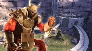 HELMS DEEP IN TF2! Capture The Throne, Aragorn Charges In! thumbnail