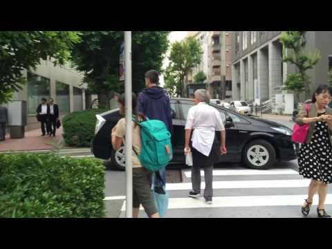 Walking around Ochanomizu to Japanese Imperial Palace in Tokyo, Japan  Part 1/4