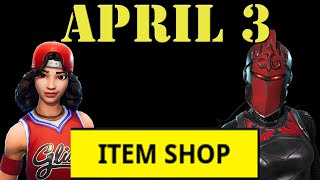 Fortnite Item Shop Update April 3 New Skins - Thoughts on Dusty Divot Lava event