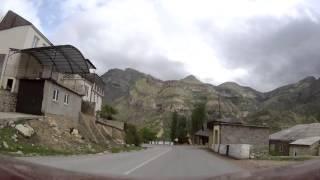 Driving from Gunib to Chokh, Dagestan, Russia