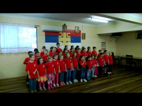 "Serbian language school ""St Sava"" part 2"