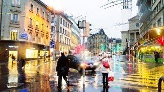 Lausanne - Лозанна(Вечерняя прогулка по Лозанне. Швейцария. Январь 2014 Музыка с сайта: http://www.youtube.com (Chances), 2014-04-13T12:30:11.000Z)