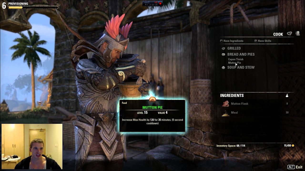 Eso Leveling Craft