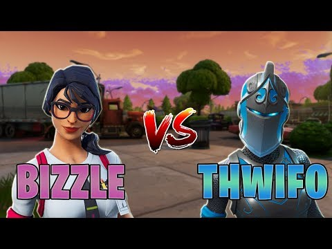 Ghost Bizzle vs Ghost Thwifo | Creative 1v1 *NA BUILD FIGHTS*