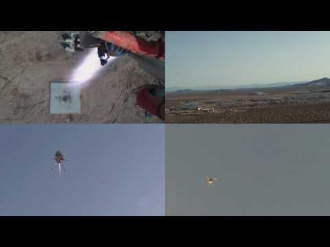 Autonomous Rocket Robot Vertical Takeoff and Landing