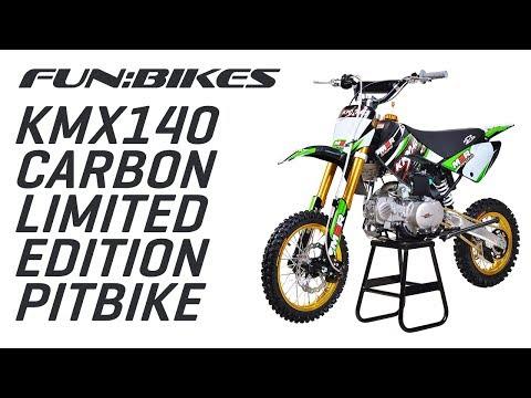 Riding the M2R Racing KMX140 140cc 82cm Carbon Limited Edition Pit Bike