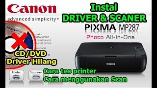 Cara Download Driver Canon MP2…