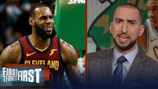 Nick Wright on Celtics defeating the Cavs in Game 1 of the Eastern Finals   NBA   FIRST THINGS FIRST