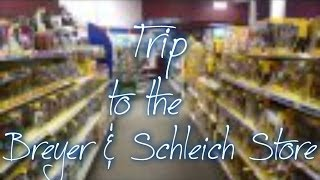 Trip to the Breyer and Schleich Store