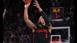Top Plays From Damian Lillard's Historic 10 Game Stretch