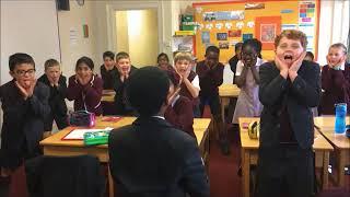Brentwood Prep maths class perform the MAKA - Maths HAKA
