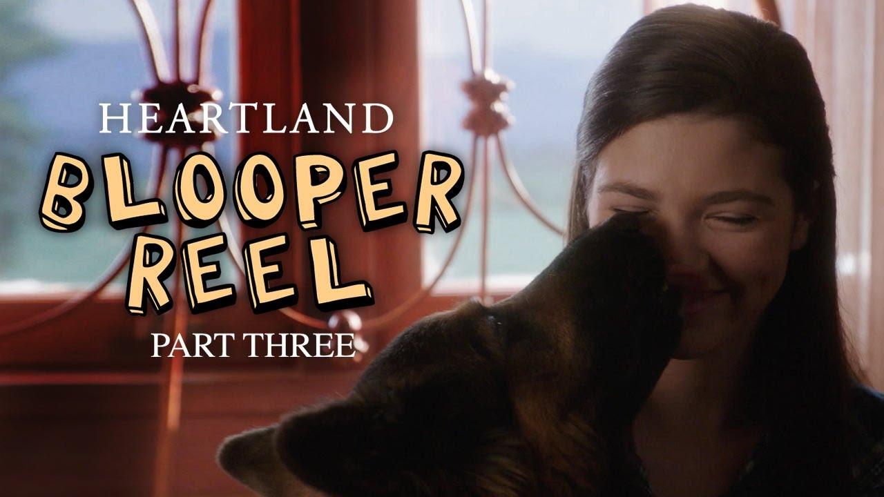 Season 9 Bloopers Part 3   Heartland   CBC