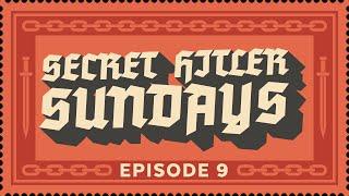 Secret Hitler Sundays - Episode 9 [Strong Language] - ft. Nerdcubed, Cry, Crendor