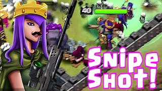 Clash Of Clans - SNIPE SHOT!! Leader board gameplay!! (Top 150 clan!!)