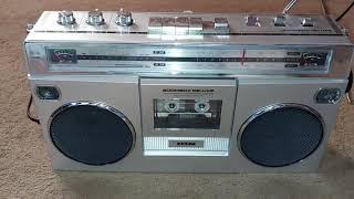 Ion boombox deluxe (iSP112B) radio cassette player/recorder digital converter