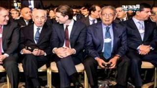 بهاء الدين الحريري جنبا إلى جنب مع شيمون بيريز – جاد غصن   26-5-2015