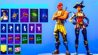 *NEW* Pirate Skins Showcase..! (Leaked Cosmetics) Fortnite Battle Royale
