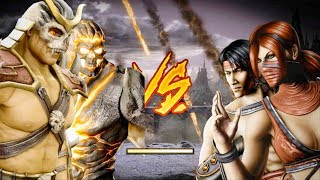 Mortal Kombat Komplete Edition - Shao Kahn MKT & Dark Kahn Tag Ladder 4K Gameplay Playthrough