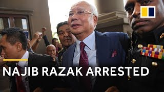 Malaysia's former Prime Minister Najib Razak arrested on corruption charges