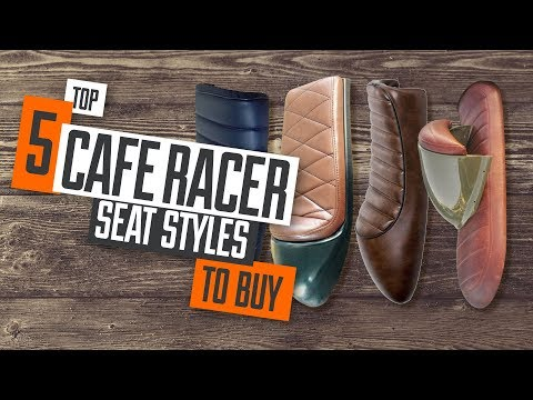 Top 5 Cafe Racer Seat Styles for your motorcycle project